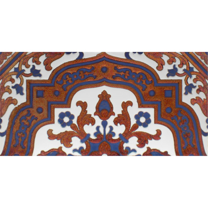 Sevillian relief copper tile MZ-050-941