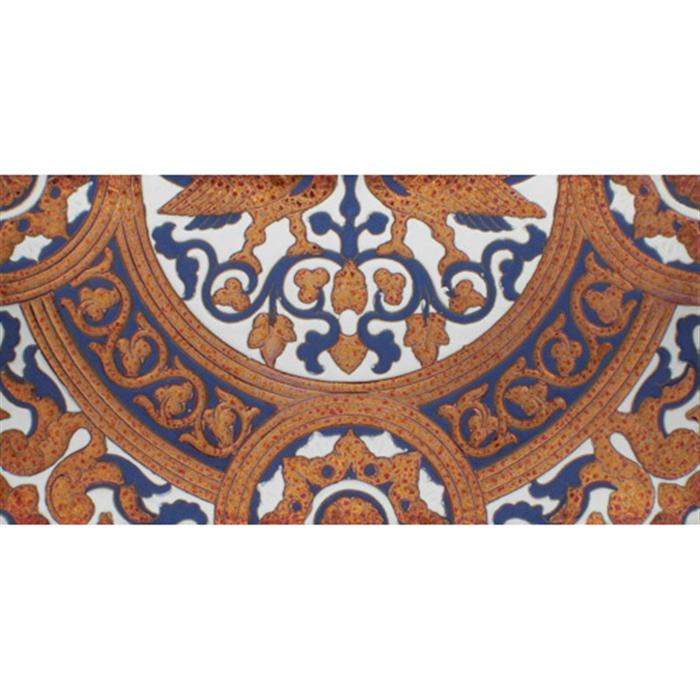 Sevillian relief copper tile MZ-054-941B