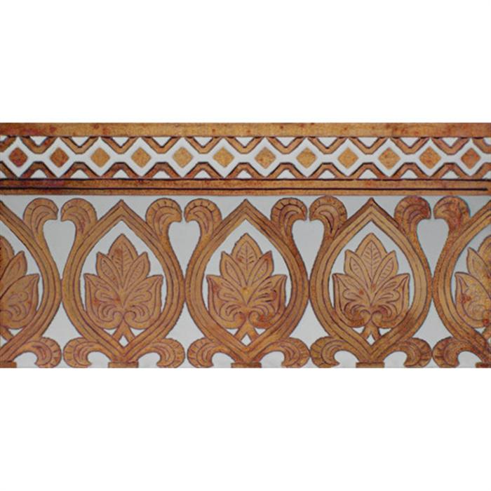 Sevillian relief copper tile MZ-055-91