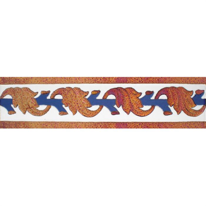 Sevillian relief copper tile MZ-057-941