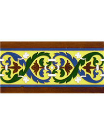 Sevillian relief tile MZ-026-03