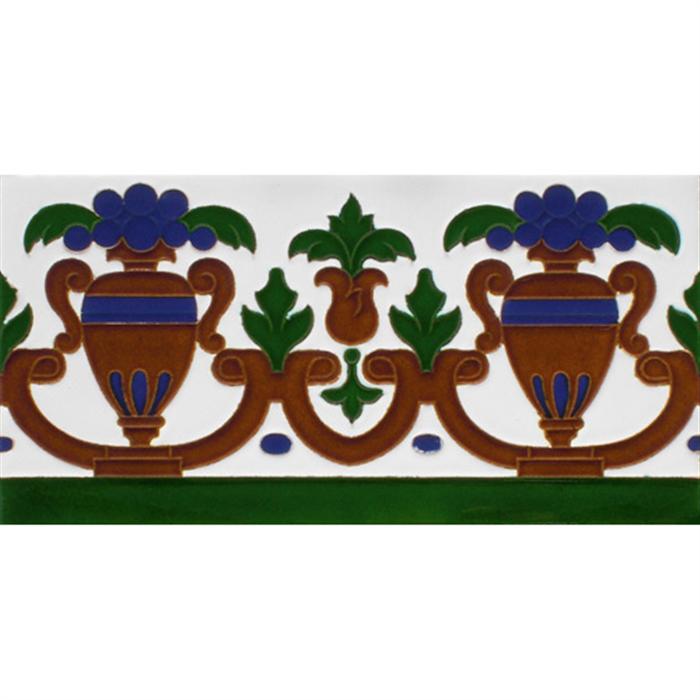 Sevillian relief tile MZ-027-00