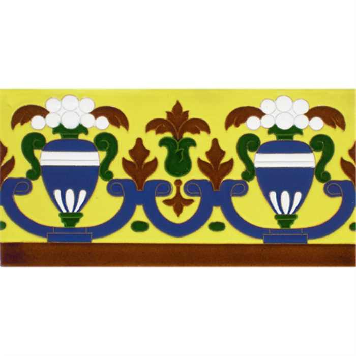 Sevillian relief tile MZ-027-03