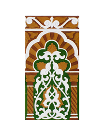 Sevillian relief tile MZ-030-01