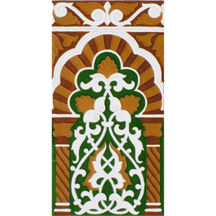 Sevillian relief tile MZ-030-01