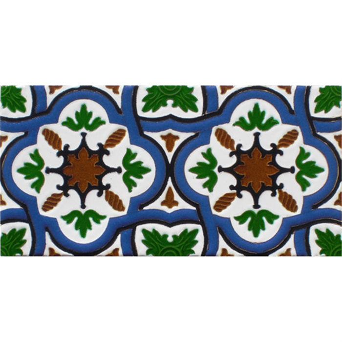 Sevillian relief tile MZ-031-00