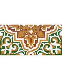Sevillian relief tile MZ-032-01