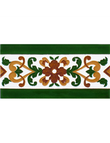 Sevillian relief tile MZ-033-01