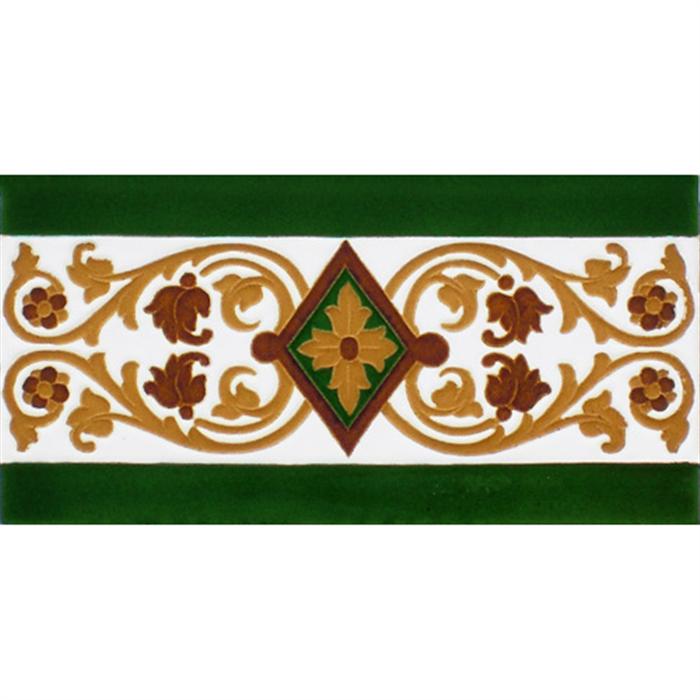 Sevillian relief tile MZ-034-01