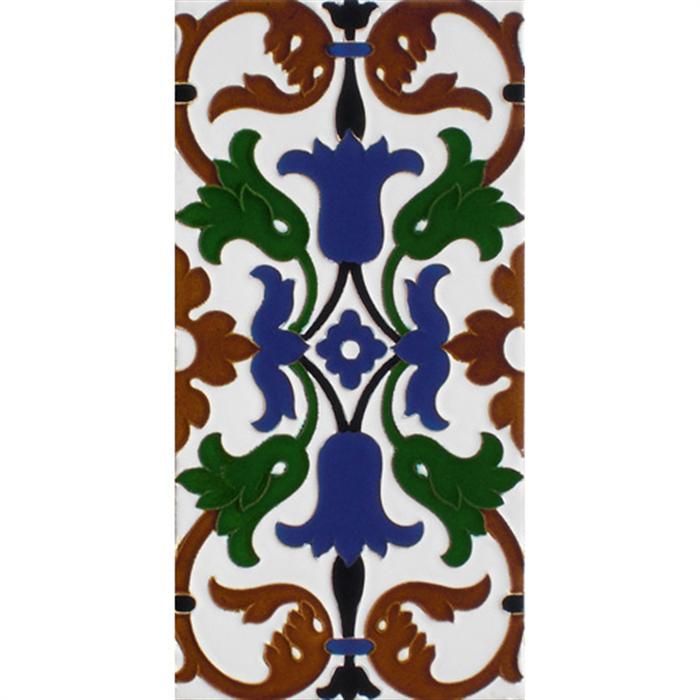 Sevillian relief tile MZ-035-00