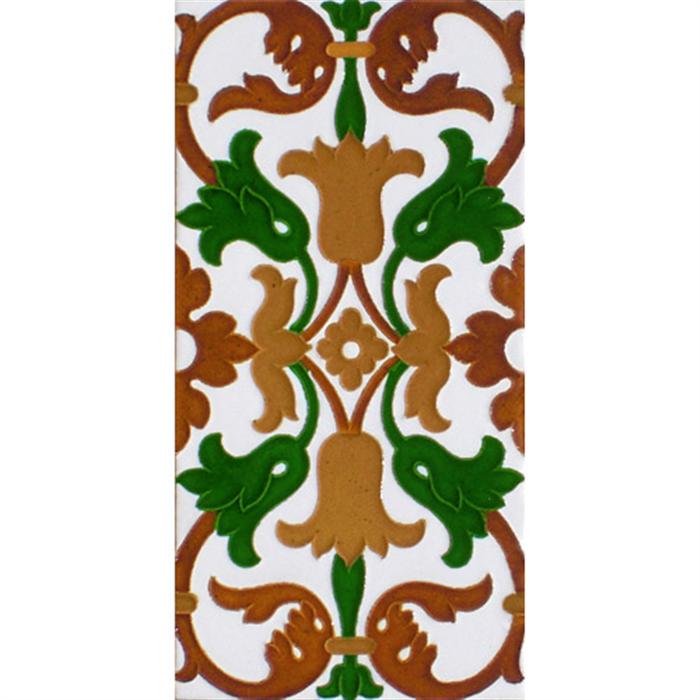 Sevillian relief tile MZ-035-01