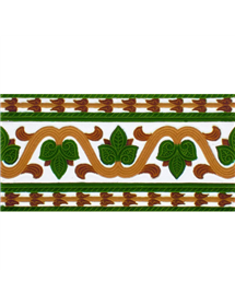 Sevillian relief tile MZ-036-01