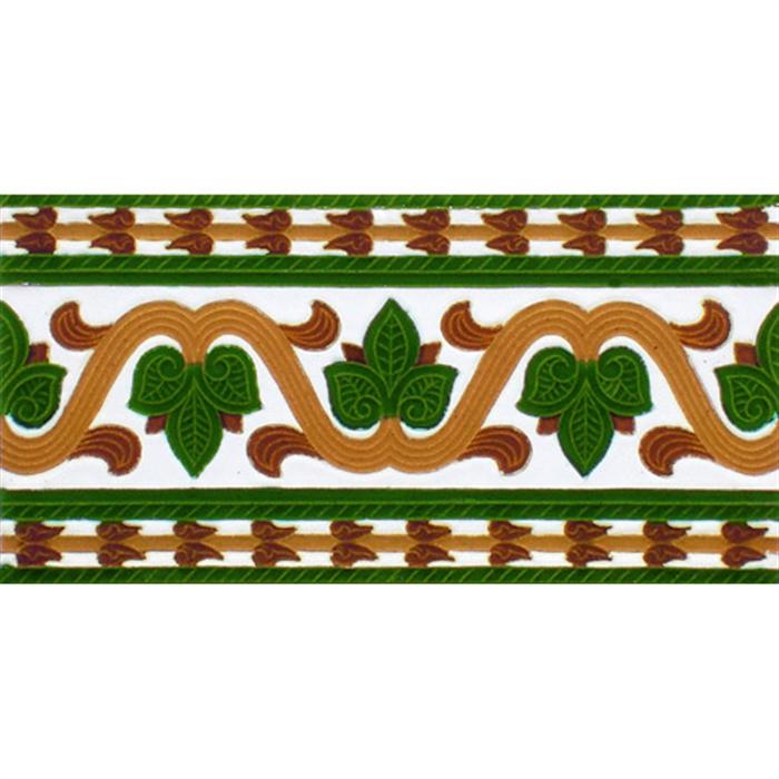 Sevillian relief tile MZ-036-01