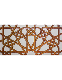 Arabian relief copper tiles MZ-039-19