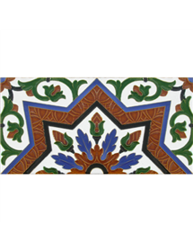 Sevillian relief tile MZ-038-00