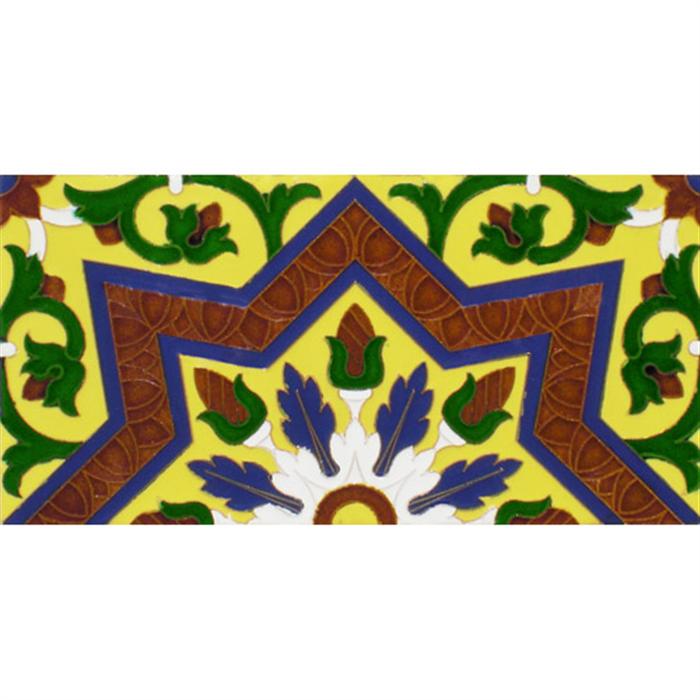 Sevillian relief tile MZ-038-03