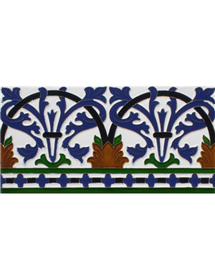 Sevillian relief tile MZ-042-00