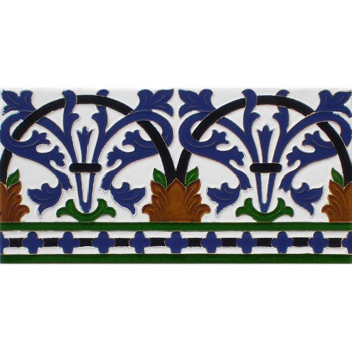 Sevillian relief tile MZ-042-00