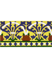 Sevillian relief tile MZ-042-03