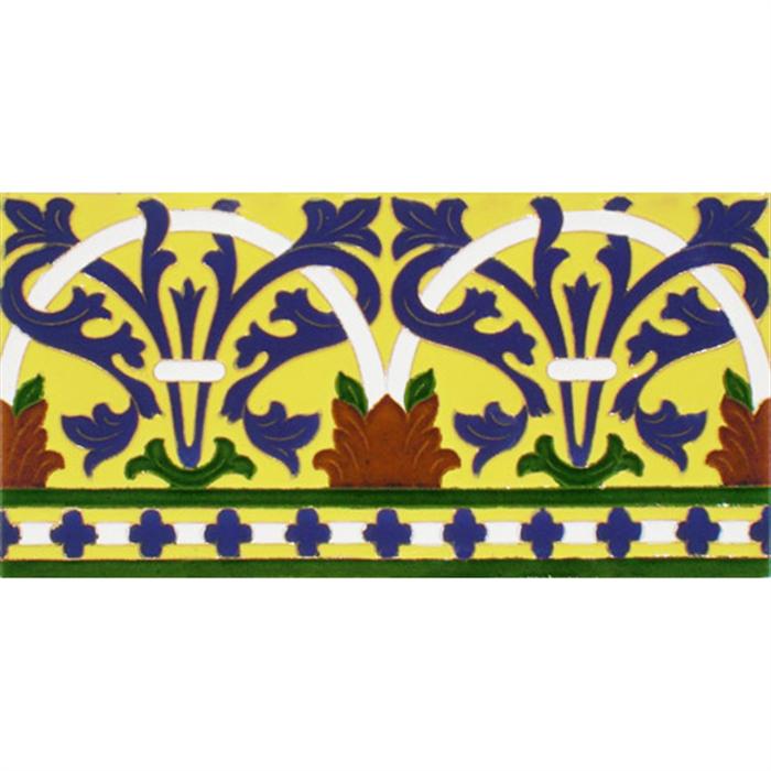 Sevillian relief tile MZ-042-03