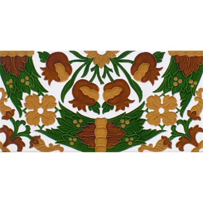 Sevillian relief tile MZ-049-01