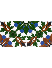Sevillian relief tile MZ-052-00