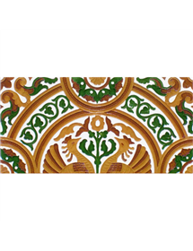 Sevillian relief tile MZ-054-01A