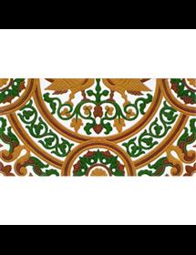 Sevillian relief tile MZ-054-01B