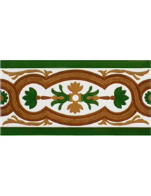 Sevillian relief tile MZ-056-01