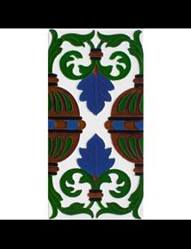 Azulejo Sevillano relieve MZ-058-00