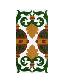 Sevillian relief tile MZ-058-01