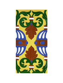 Sevillian relief tile MZ-058-03