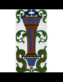 Sevillian relief tile MZ-059-00