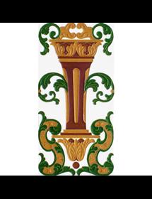 Sevillian relief tile MZ-059-01