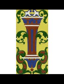 Sevillian relief tile MZ-059-03