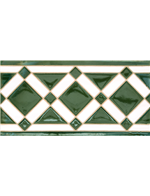 Sevillian relief tile MZ-009-21
