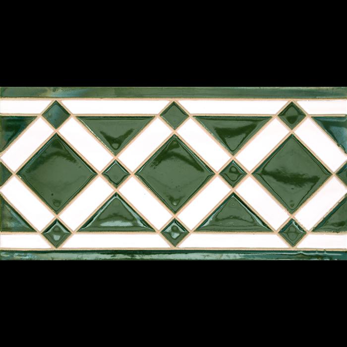 Azulejo Sevillano relieve MZ-009-21
