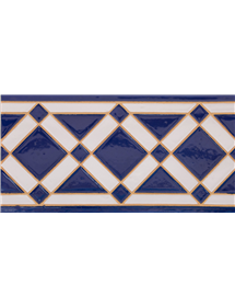 Azulejo Sevillano relieve MZ-009-41