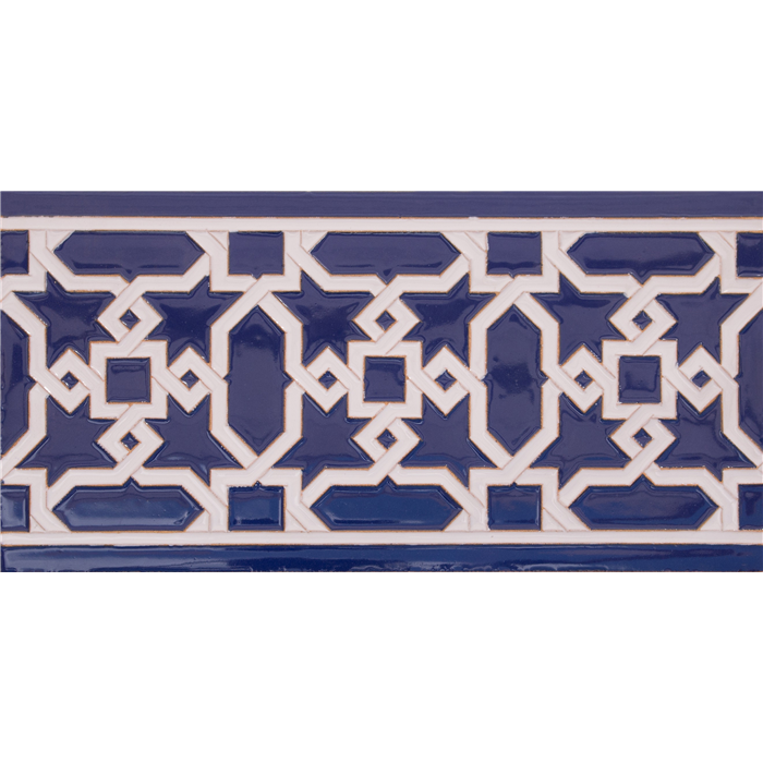 Azulejo Sevillano relieve MZ-015-41