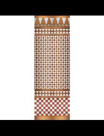 Mosaico Árabe cobre MZ-M001-91