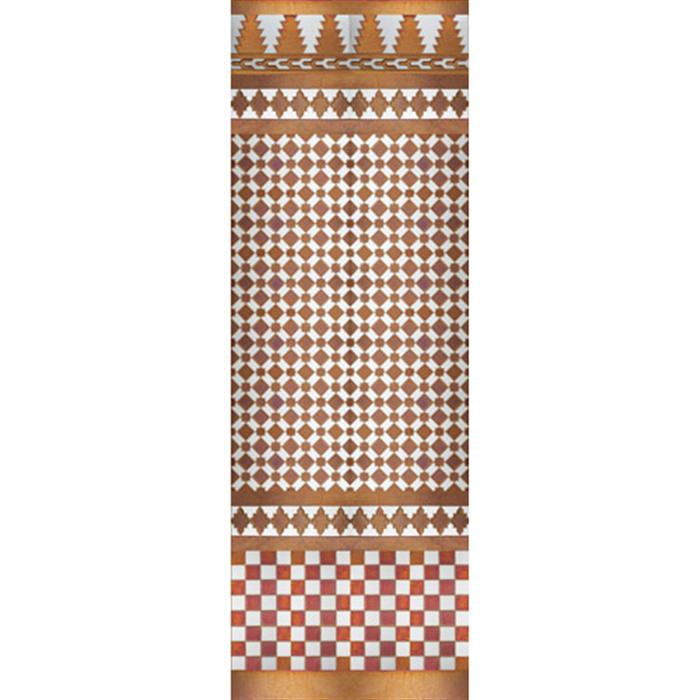 Arabian copper mosaic MZ-M001-91