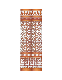 Arabian copper mosaic MZ-M039-19