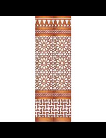Mosaico Árabe cobre MZ-M039-19