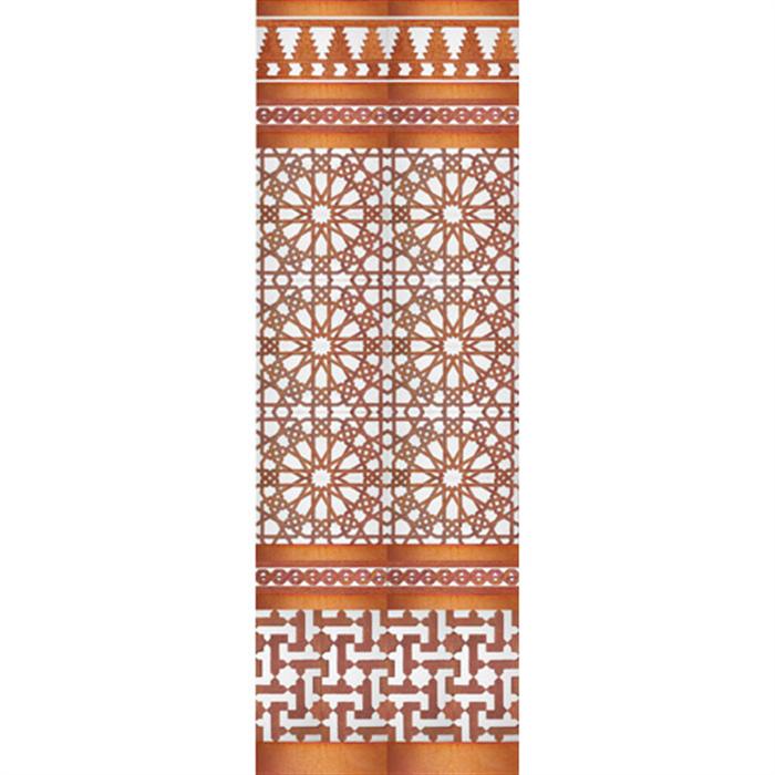 Arabian copper mosaic MZ-M039-19