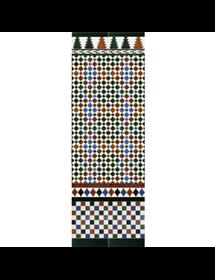 Arabischen farbigen mosaiken MZ-M001-00