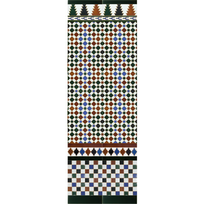 Arabian colour mosaic MZ-M001-00