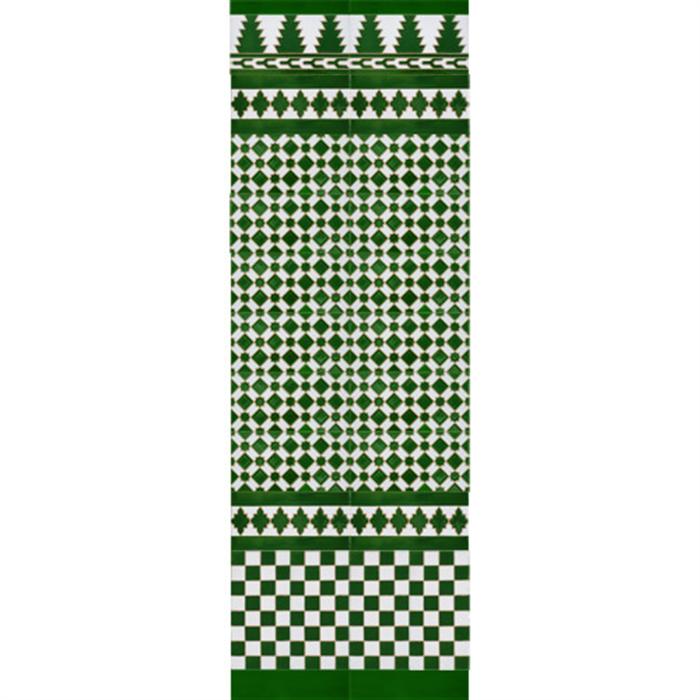 Arabian colour mosaic MZ-M001-21