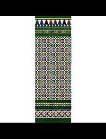 Arabischen farbigen mosaiken MZ-M010-00