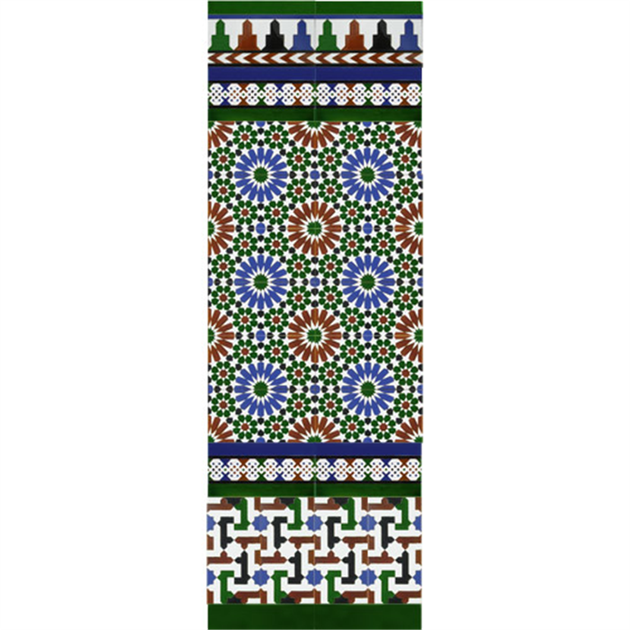 Arabian colour mosaic MZ-M011-00