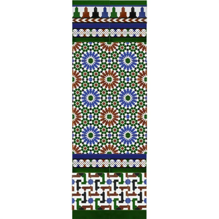Arabischen farbigen mosaiken MZ-M011-00